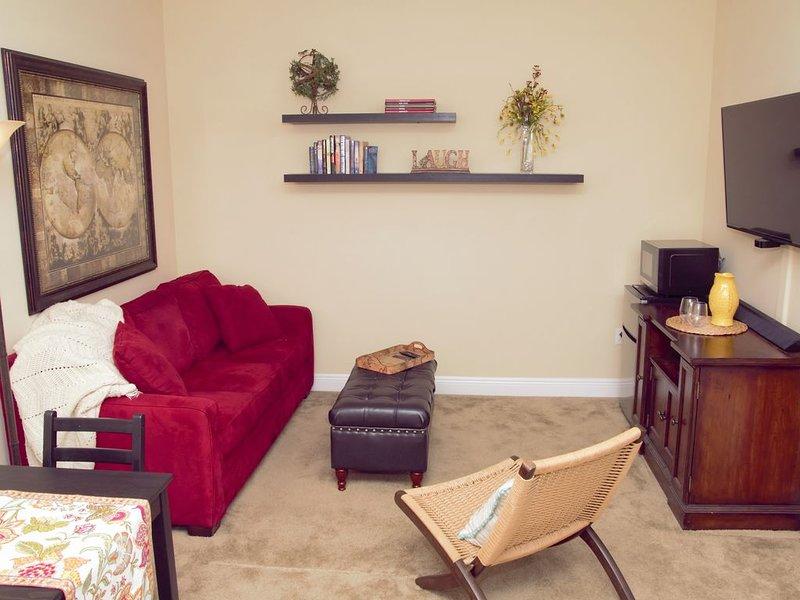 Spacious 1 bedroom Suite with King Bed in quaint Safety Harbor, alquiler de vacaciones en Feather Sound