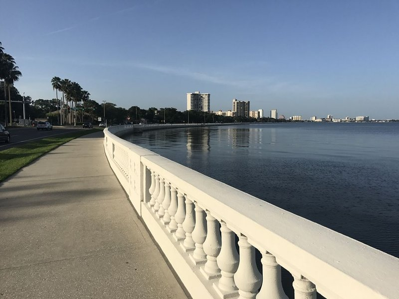 Bayshore S Tampa Townhouse - Water View within 3 miles of AMALIE ARENA, Universi, vacation rental in Tampa