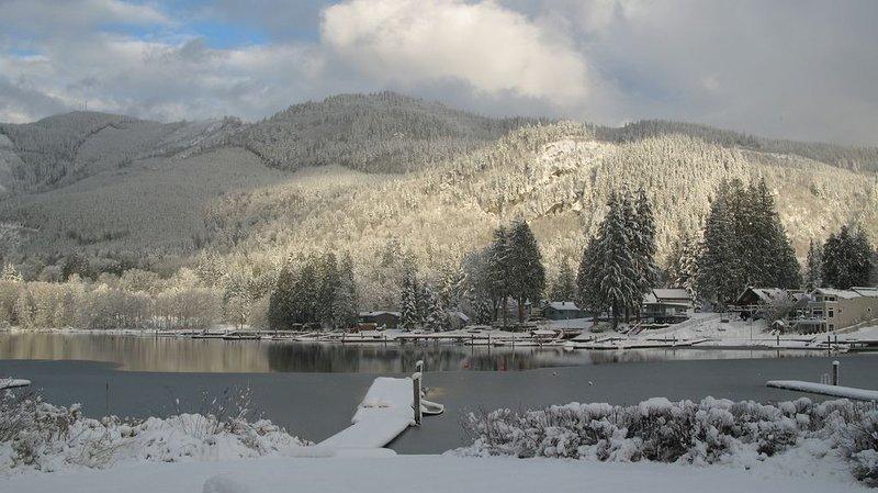 Winter on Lake Samish