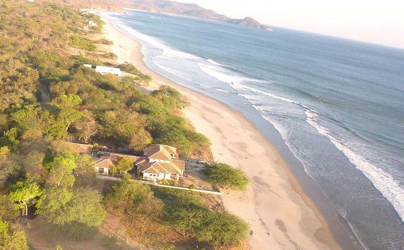 Luftbild unseres Hauses