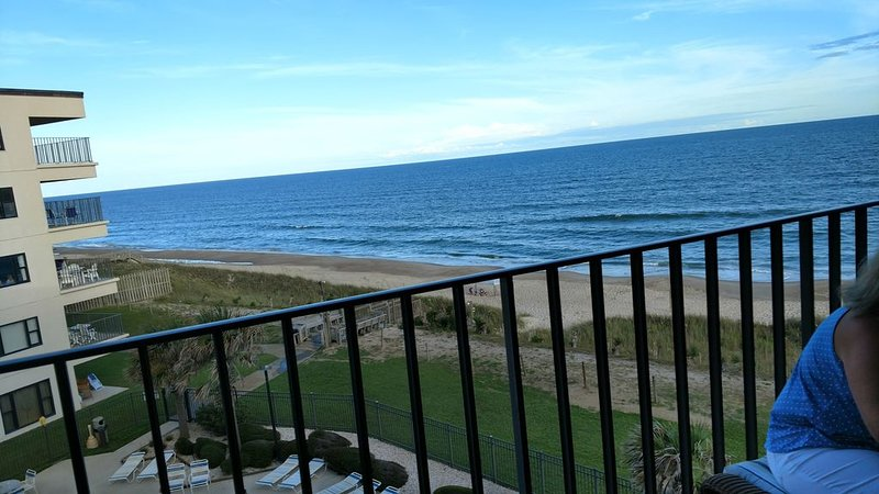 Beautiful oceanfront view, vacation rental in Salter Path