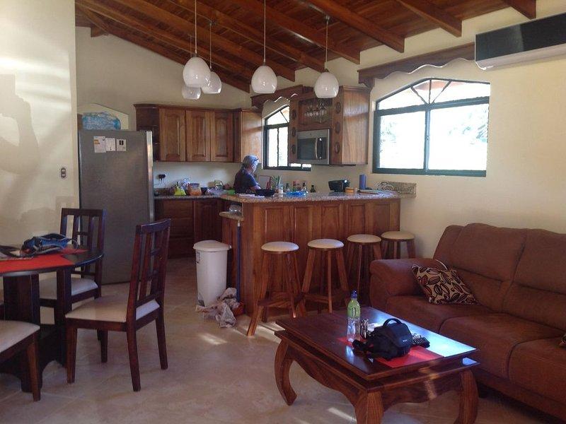 NICE 3 BEDROOM MODERN HOUSE WITH POOL, alquiler de vacaciones en Playa Samara