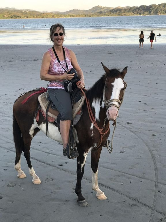 Wendy's ride on the beach