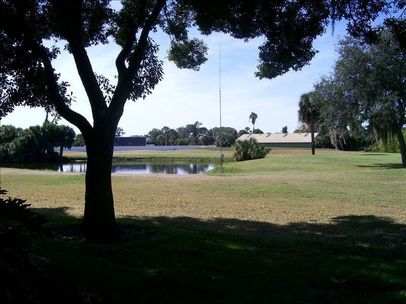 golf course side view