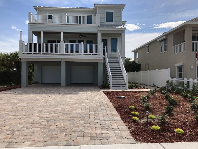 4 Bedroom Oceanfront Home, alquiler de vacaciones en Flagler Beach