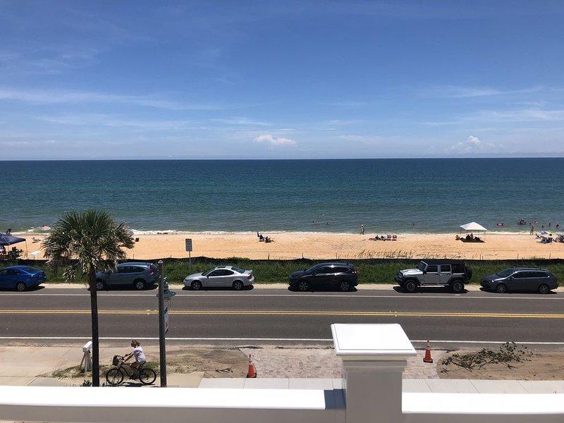 Vista a la playa en el tercer piso