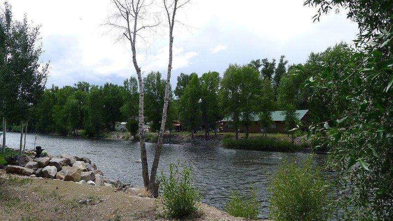 Located on the Historic Gunnison River-Casa Del Rio, vacation rental in Gunnison