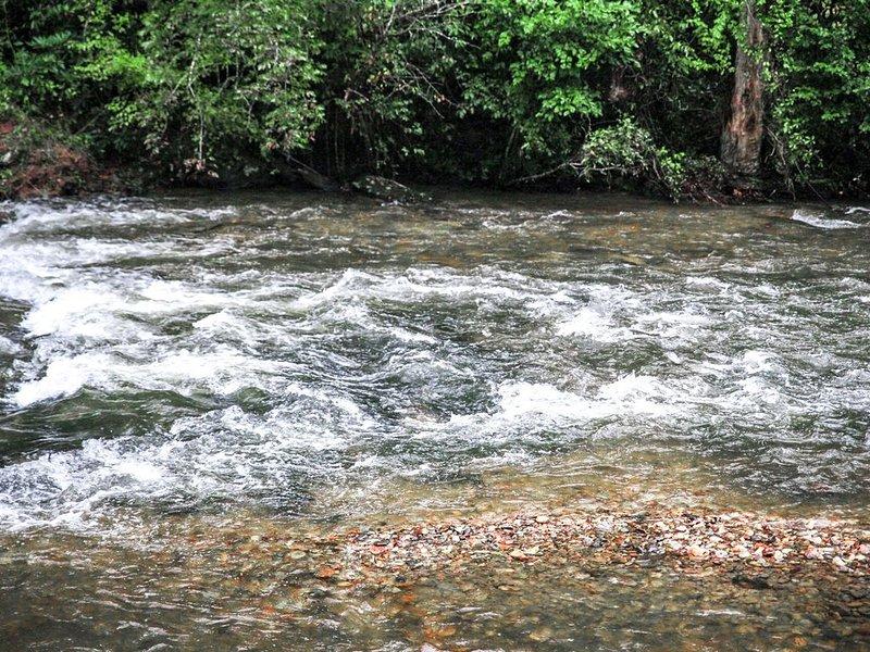 Escucha las aguas ondulantes