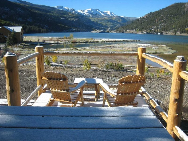 Nordic Lakeview - Looks Right Out At Lake San Cristobal, holiday rental in Lake City