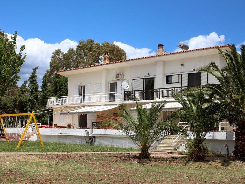 Ideal für Familien: Ferienhaus direkt am Meer, großer Garten | Argolis, Peloponn, location de vacances à Iria