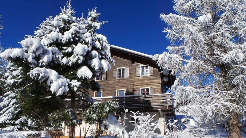 Appartement de charme dans chalet aux Carroz d'Arâches, holiday rental in Magland