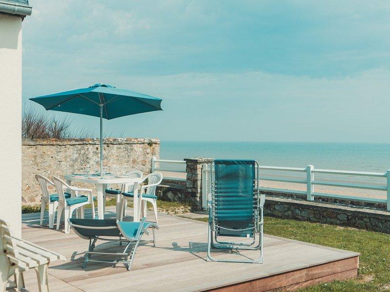 Villa en front de mer, Ferienwohnung in Manche