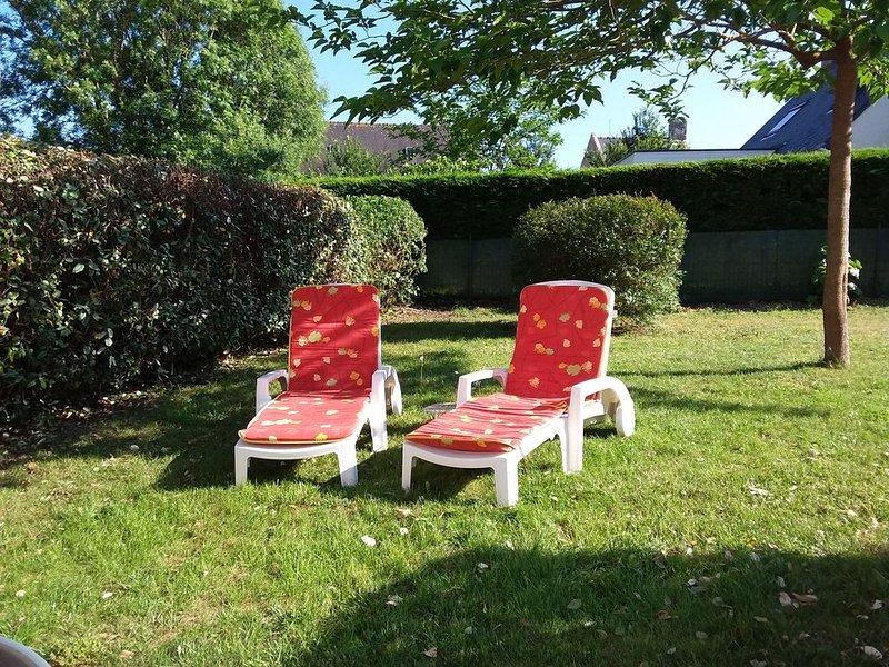 MAISONNETTE JARDIN CLOS WIFI Classée 3***  DU 9/10 au 19/12 190€/semaine, holiday rental in Erdeven