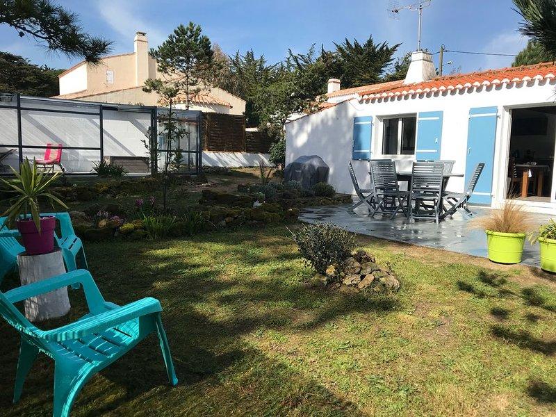 Jolie maison vendéenne , classée 3* . Proche accès plage et commerces, alquiler vacacional en Ile de Noirmoutier
