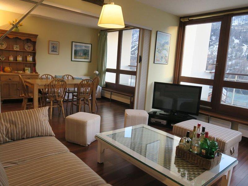 Appartement de Standing - Isola 2000 -Front de Neige -Pied des pistes, aluguéis de temporada em Sant'Anna di Valdieri