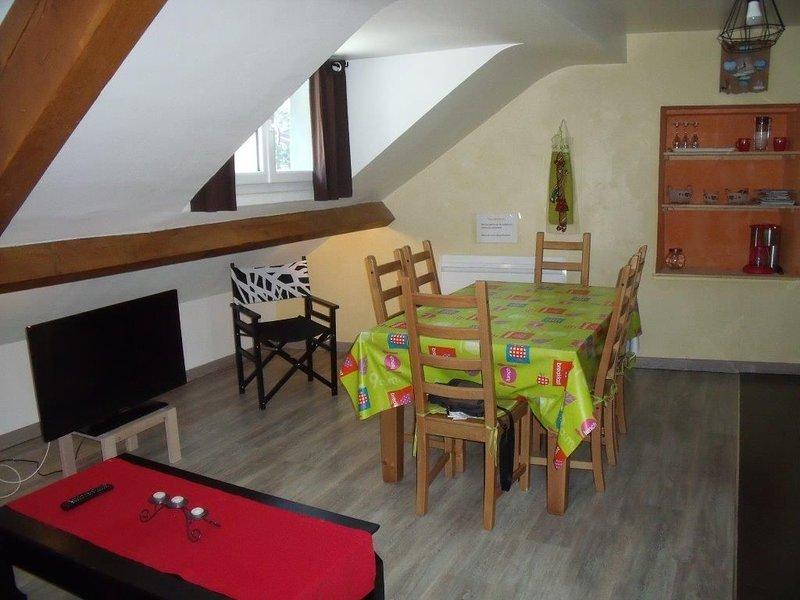 LOCATION MEUBLE 45 M2 TOUT CONFORT CENTRE VILLE, holiday rental in Le Mont-Dore