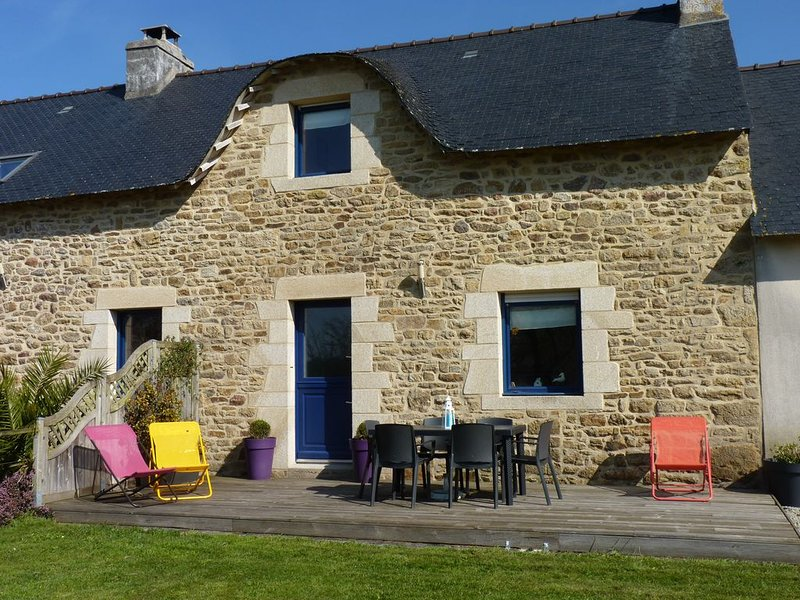 Gîte rural 6 personnes à Plumergat région d'Auray, holiday rental in Sainte-Anne-d'Auray