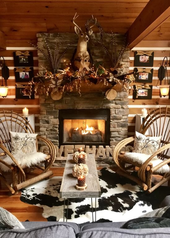 Sitting Room with gas fireplace on main level with beautiful exterior view