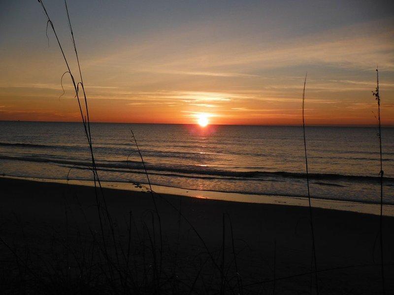 Sunrise off Your Deck