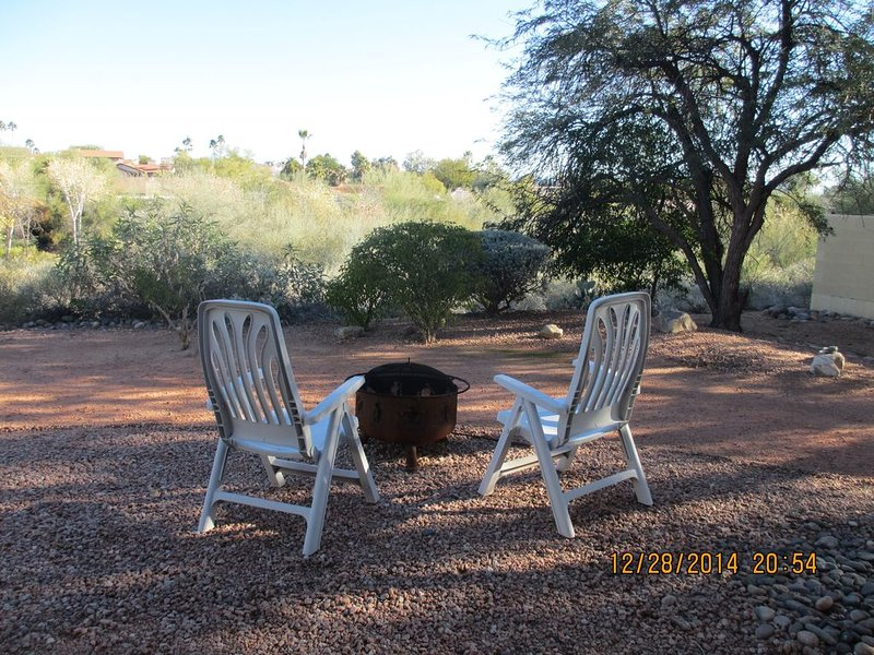 Peaceful backyard retreat