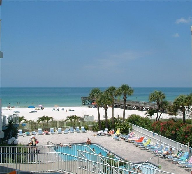 Vacation on the Beach at our Beach Palm Condo, holiday rental in Redington Shores