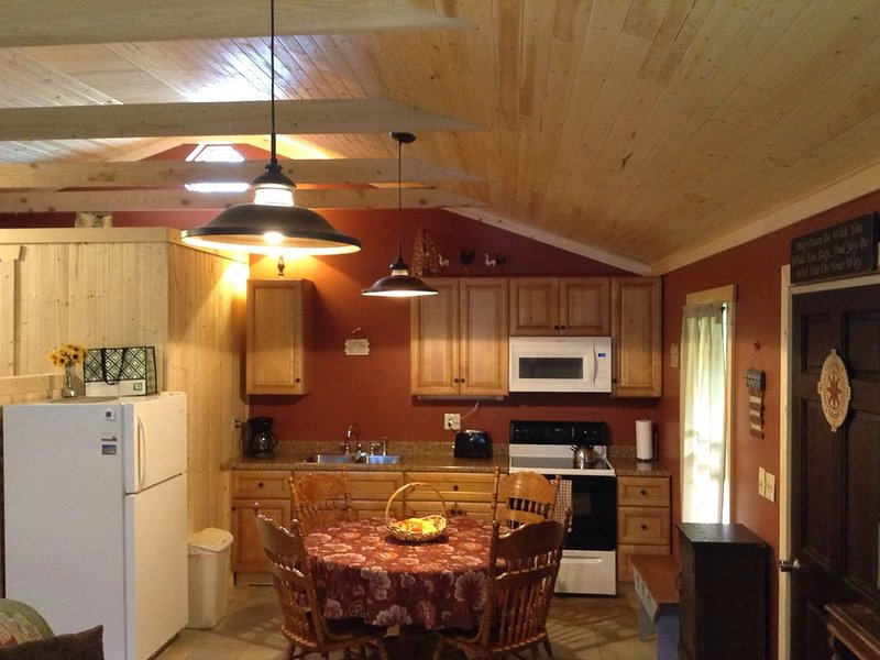 Fern Creek Cabins * New River Gorge White Water Hiking Hot Tub Newly Remodeled, holiday rental in Hico