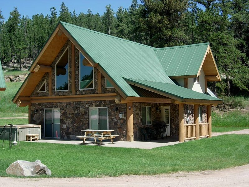 2 Bedroom Log Cabin Located in Heart of Black Hills, vacation rental in Hill City