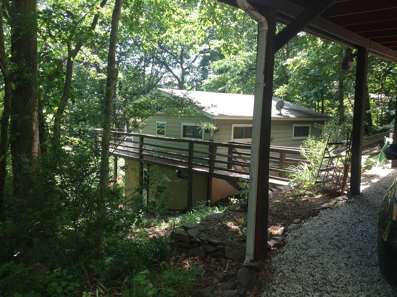 COZY CABIN OUTSIDE OF ASHEVILLE. MOUNTAIN VIEW/ PET FRIENDLY/ WIFI AVAILABLE, vacation rental in Arden