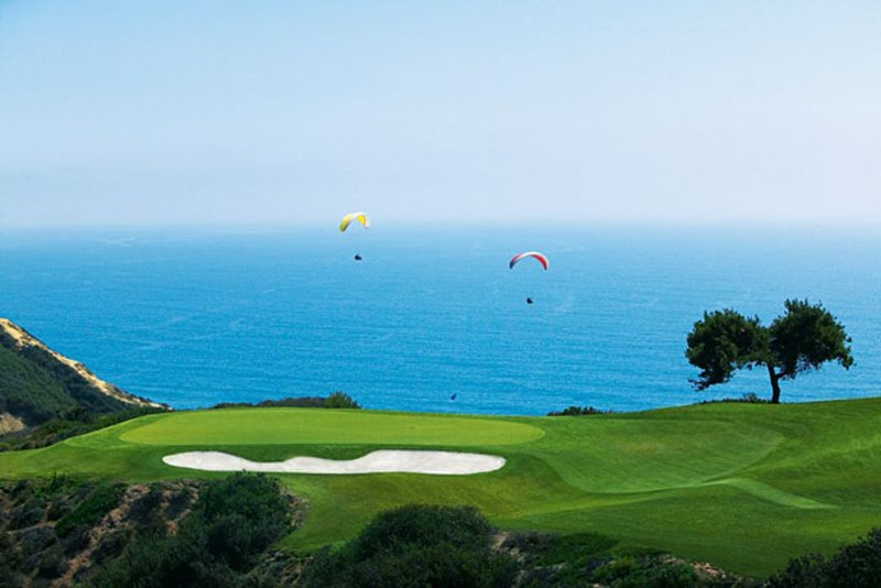 World Famous Torrey Pines Golf Course just a 5 minute drive from the home.