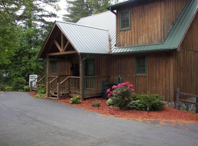 Big Nate Cabin on Lake with Water Trampoline, aluguéis de temporada em Hiawassee