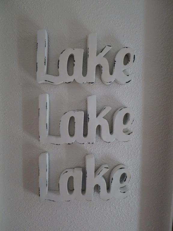Lake Living !!