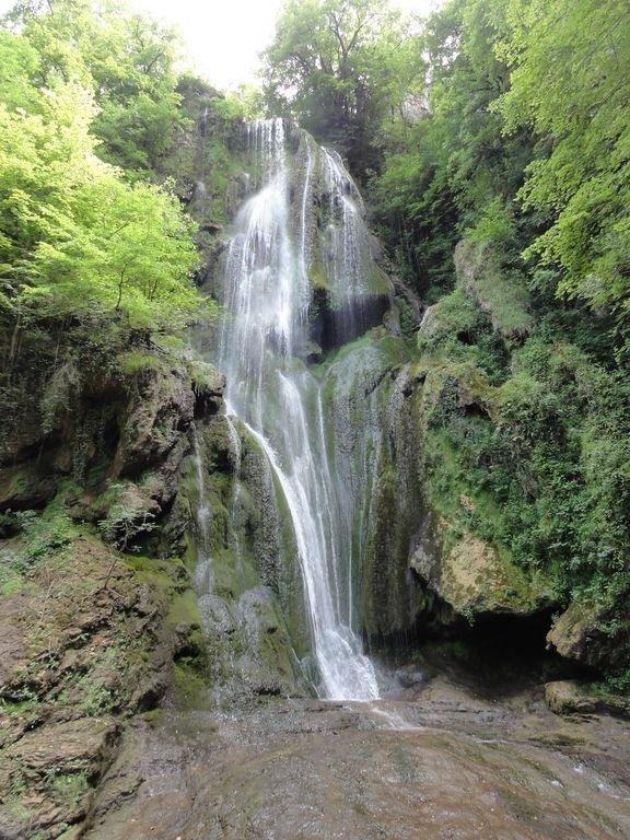 La Cascade in beautiful Autoire river valley, a great 45 minute walk