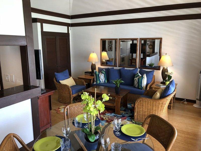 Kiahuna Condo Unit 155 - A/C Living Room & Bed Room, Private, Perfect Location, vacation rental in Koloa