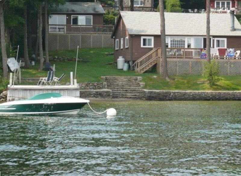 Newfound Lake Bristol, New Hampshire Lakefront Property, vacation rental in New Hampton