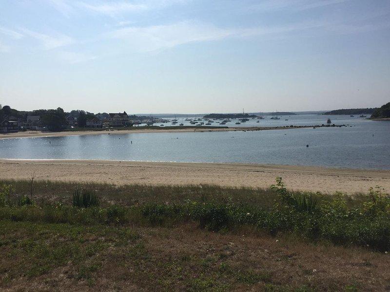 olhando para a praia e vistas dos blefes