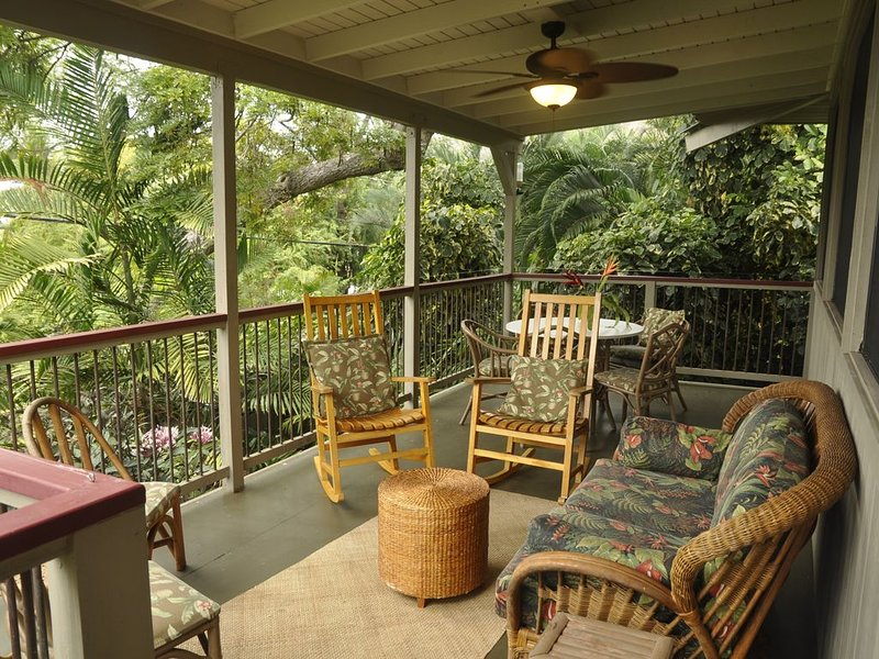 Kealakekua Bay!  Airy Home Just 5 Minute Walk to Manini Beach, holiday rental in Honaunau