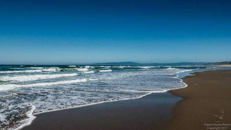 Pajaro Dunes costa.