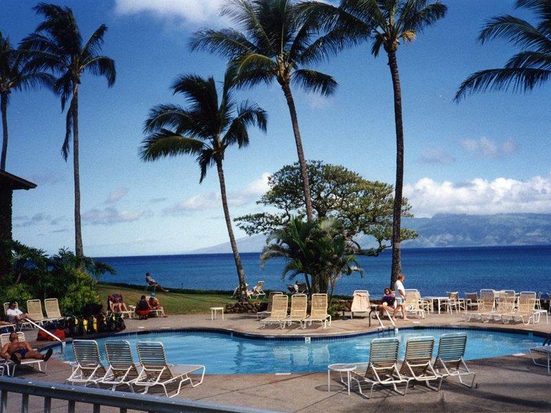 'Oceanfront Maui Condominium' Napili Shores Resort- H-264, holiday rental in Kapalua