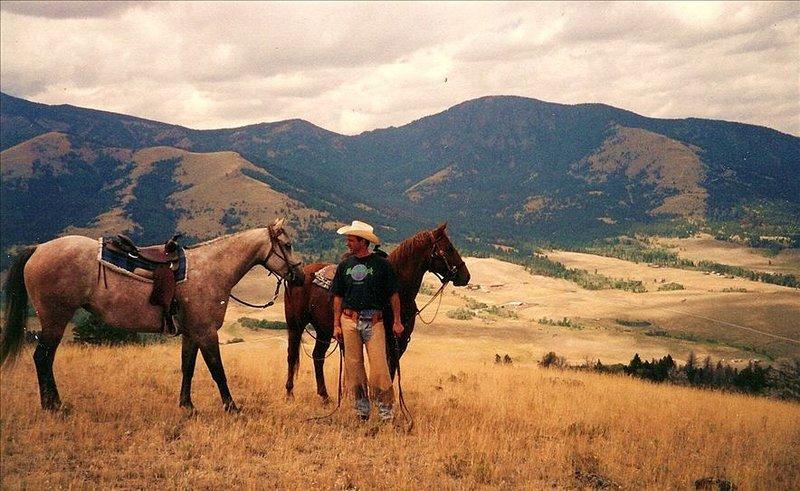Aspen Cabin near Yellowstone - horse rides,zip lining, rafting, hiking, location de vacances à Gardiner