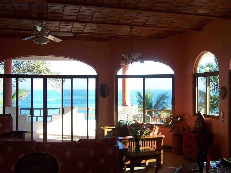 Casa Venados: Oceanfront Home,  Beach Vacation Paradise, holiday rental in Lo de Marcos