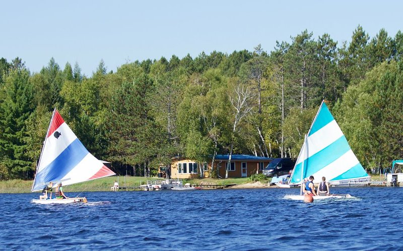 Out Door Pursuit Kids getting sailing lessons from Local instructor..