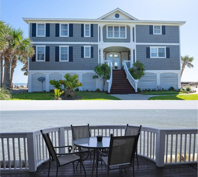 Ocean Front Home with the best views on Fripp Island!  6 Amenity Cards Included!, alquiler de vacaciones en Fripp Island