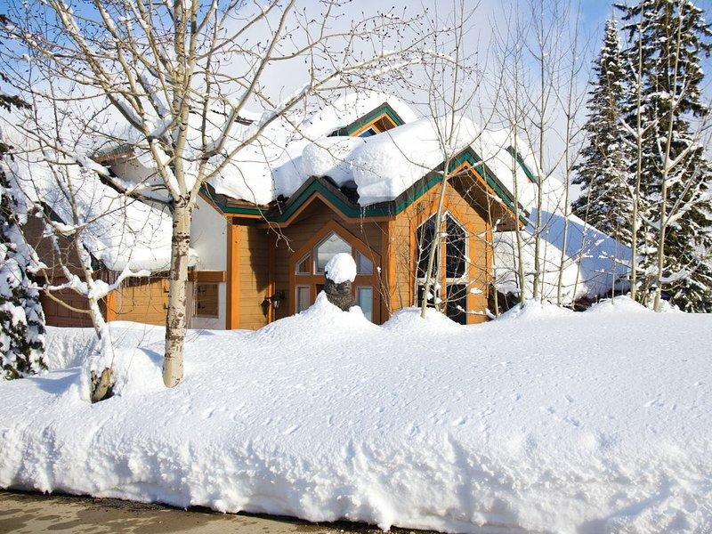 Schweitzer Ski Resort Truly Ski in/ Ski Out Cabin, alquiler de vacaciones en Luby Bay