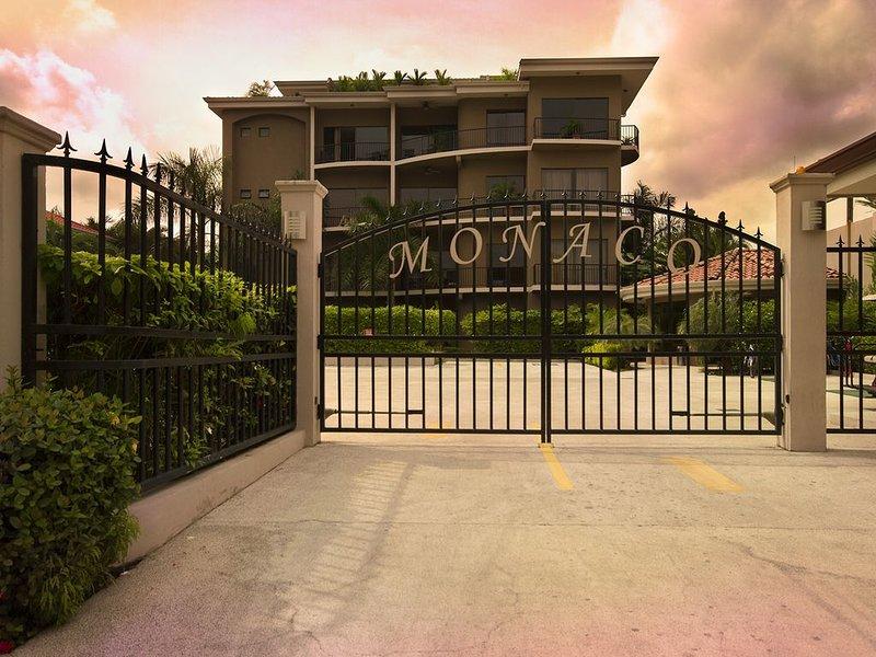 Entrance to Monaco