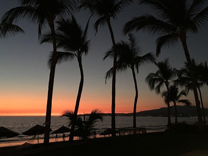 Walk Out Your Back Gate To Beach.  Brad & Joey - Villa La Estancia, holiday rental in Nuevo Vallarta
