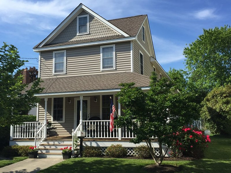 BOOK SUMMER 2020, HOUSE BEAUTIFUL! HISTORIC DISTRICT, Walk to Everything!, holiday rental in West Cape May