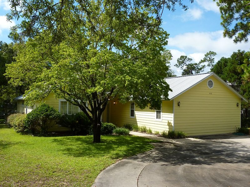 3rd NIGHT FREE!!   Caper Cottage - Riverfront - Private Boat Dock!, alquiler de vacaciones en Steinhatchee
