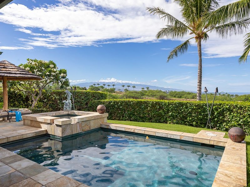 Luxury 3BR home with private pool and hot tub, alquiler vacacional en Kawaihae