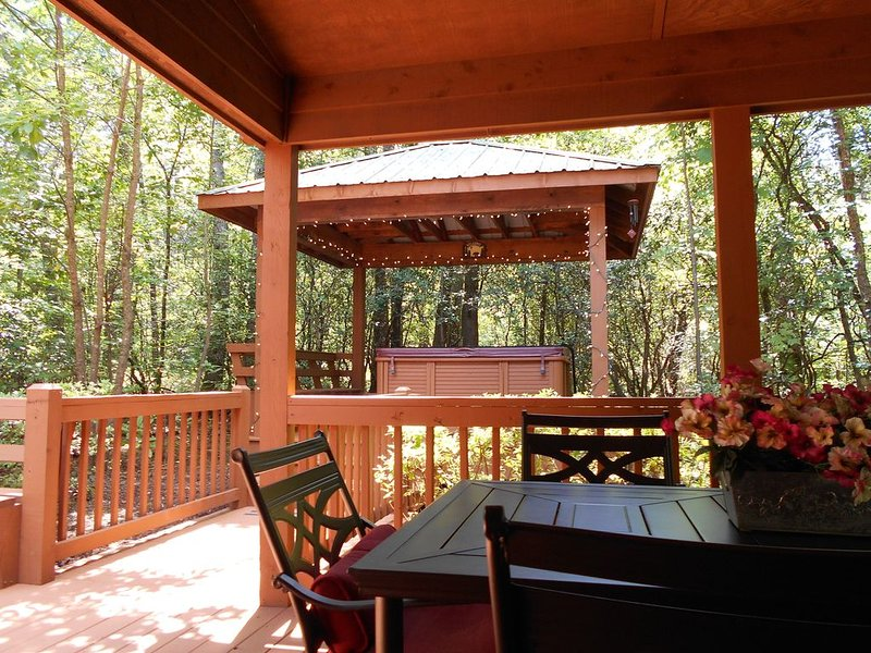 Bear Crossing  HELEN's OPEN  Secluded-One Level-Dog Friendly-Mins to Downtown, aluguéis de temporada em Sautee Nacoochee