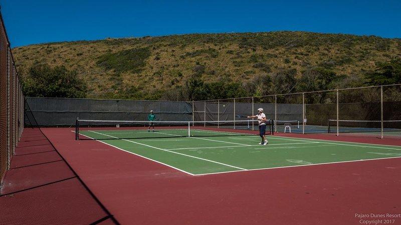 ¡Diferentes canchas de tenis para elegir! ¡Perfecto para grupos pequeños o grandes!